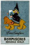 German Advertising Stickers